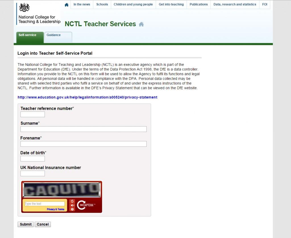 login-into-teacher-self-service-portal
