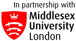 In partnership with Middlesex University logo