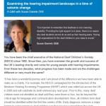 Hearing impairment with Susan Daniels