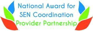 National Award for SEN Coordination Provider Partnership Logo